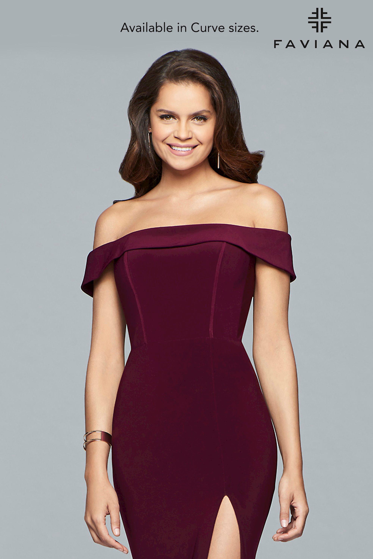 41c7c3c7862 Faviana Curve Plus Size Dresses