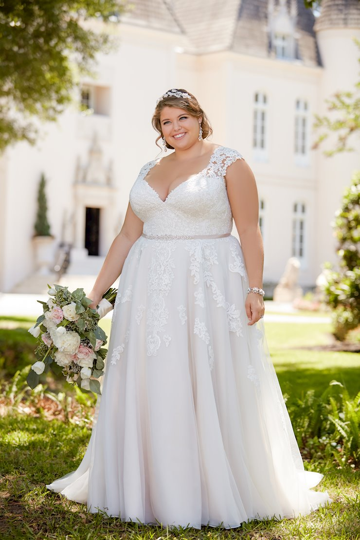 Stella York Plus Size Mya