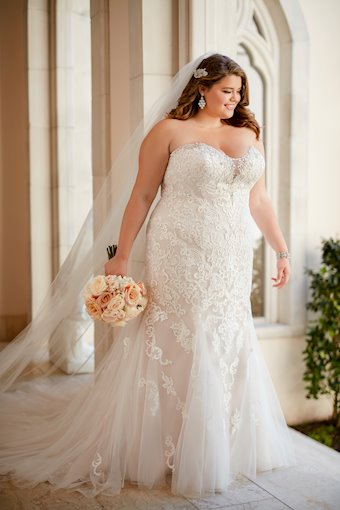 Stella York Plus Size 6502