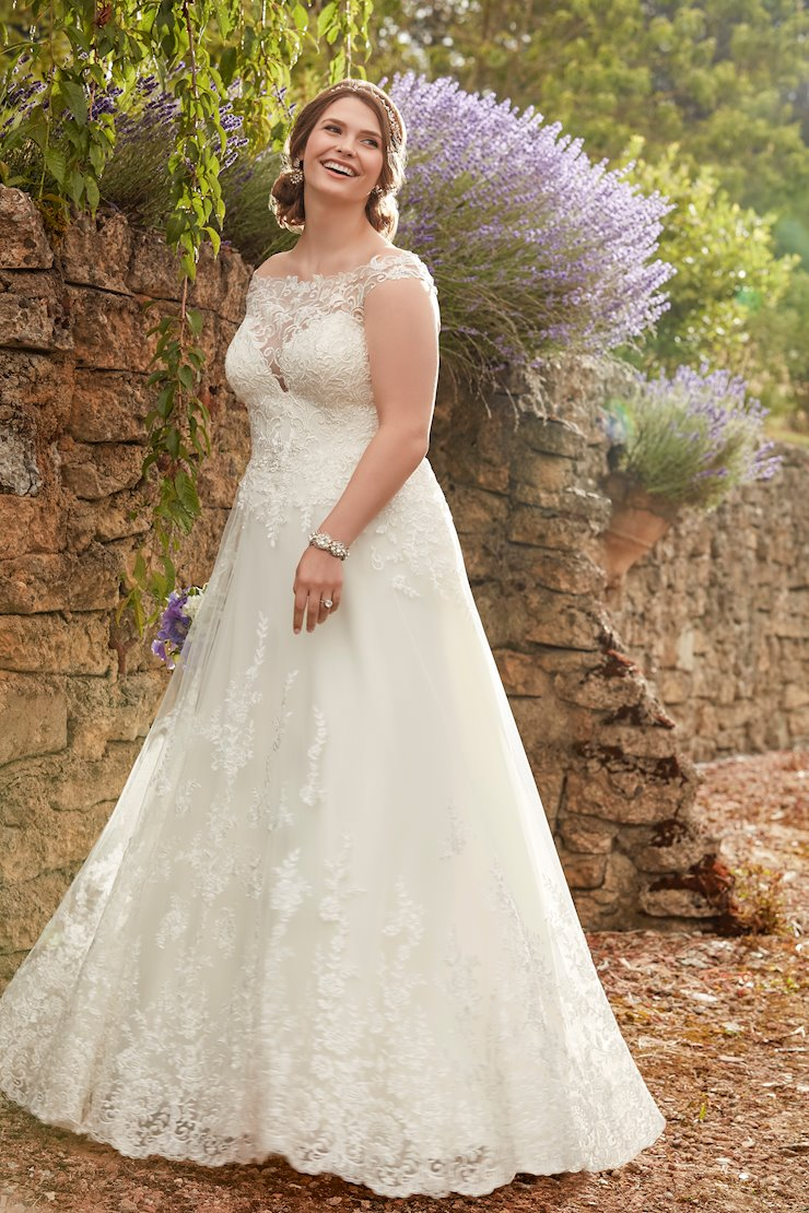 Essense of Australia Plus Size D2327