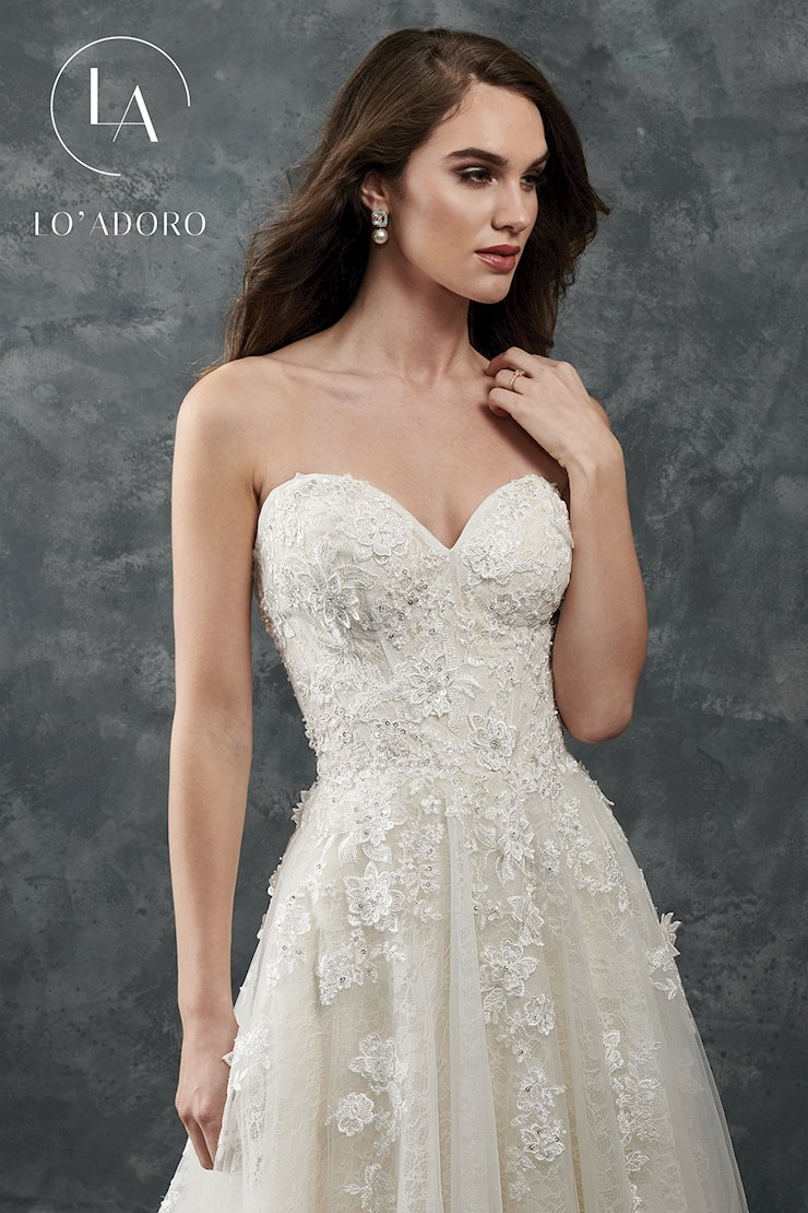 Sweetheart Fitted Long Curves Dresses in Color | Style - 7147W