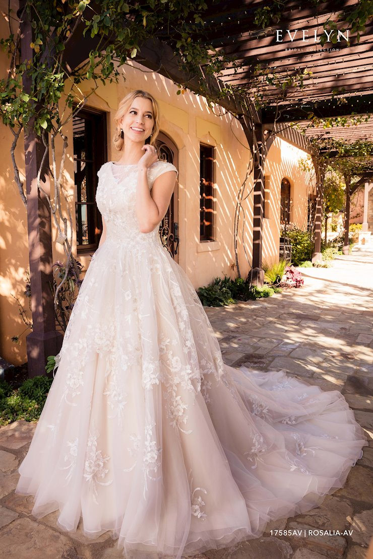 Evelyn Bridal 17585AV