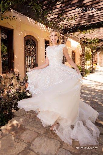 Evelyn Bridal Style #17585AV