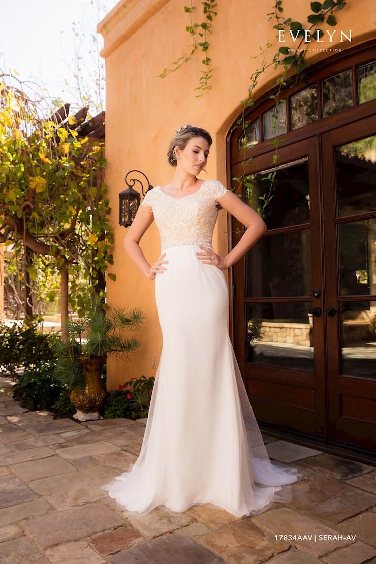 Evelyn Bridal 17834AAV