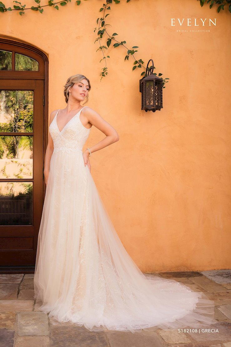 Evelyn Bridal Grecia S182108