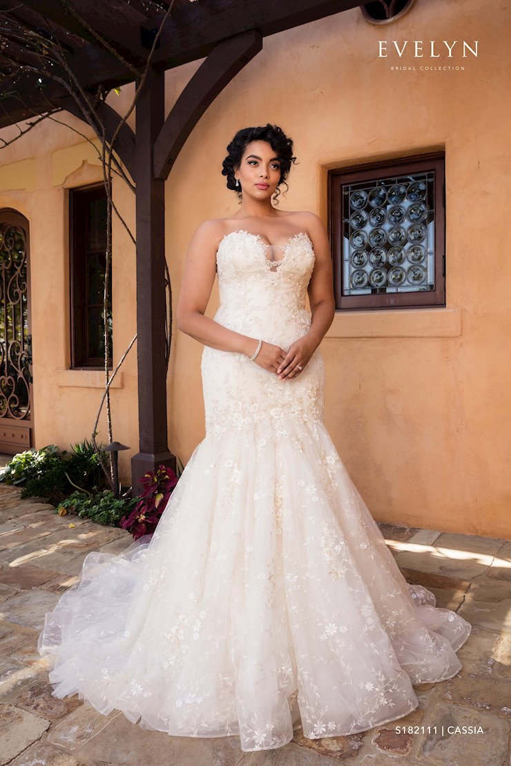 Evelyn Bridal Cassia S182111 Image
