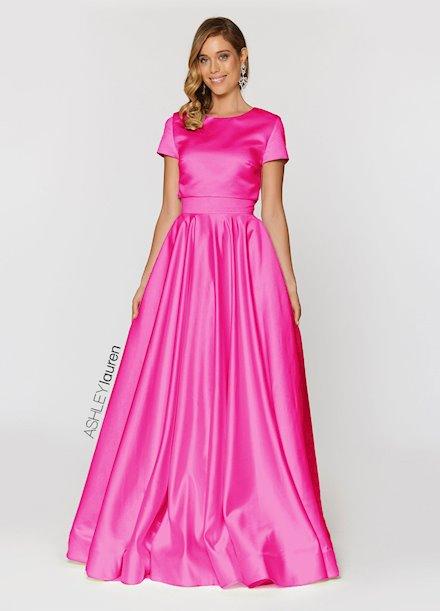 Ashley Lauren Two Piece Ball Gown