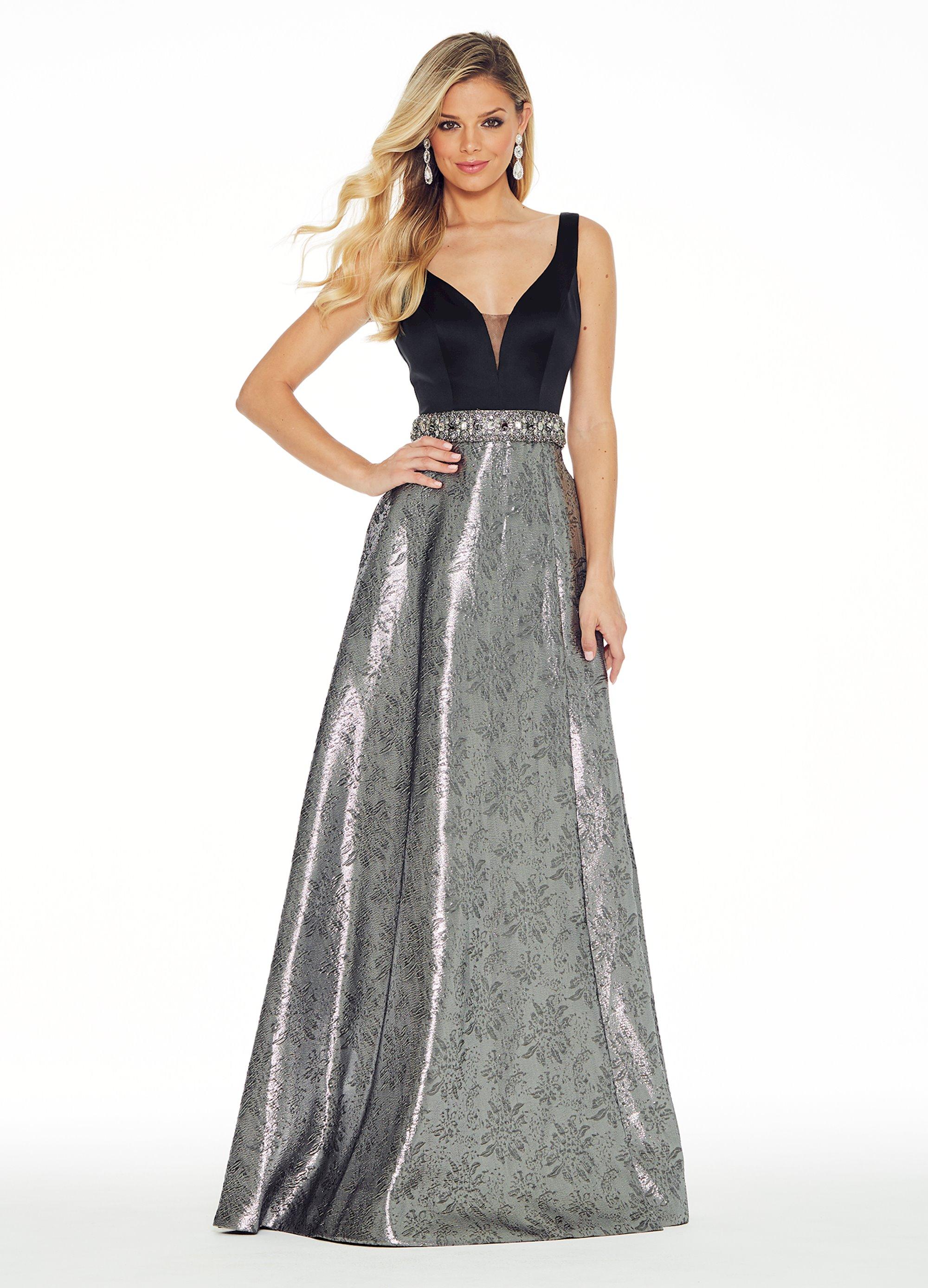 Pewter Evening Dresses