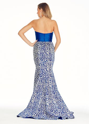 Image result for royal blue brocade gown