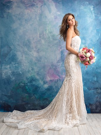 Allure Bridals Style #9550