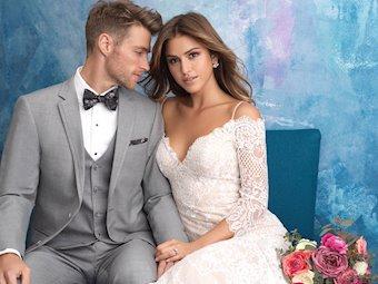 Allure Bridals 9551