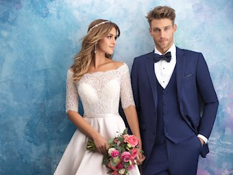Allure Bridals 9553