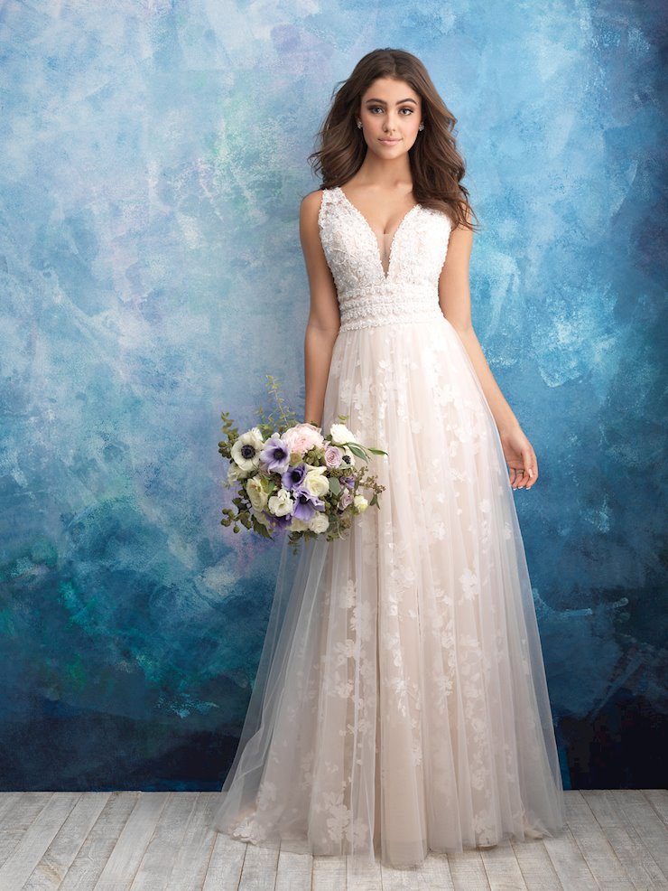 Allure Bridals Style #9561