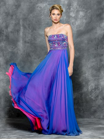 Colors Dress Style 1715
