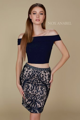 Nox Anabel Style #E664-NAVY-025