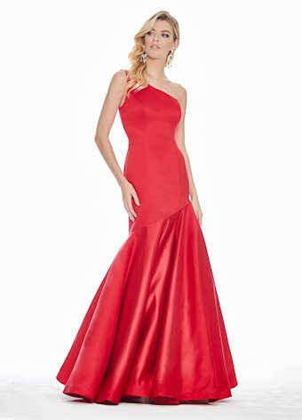 Ashley Lauren Fit & Flare Evening Dress