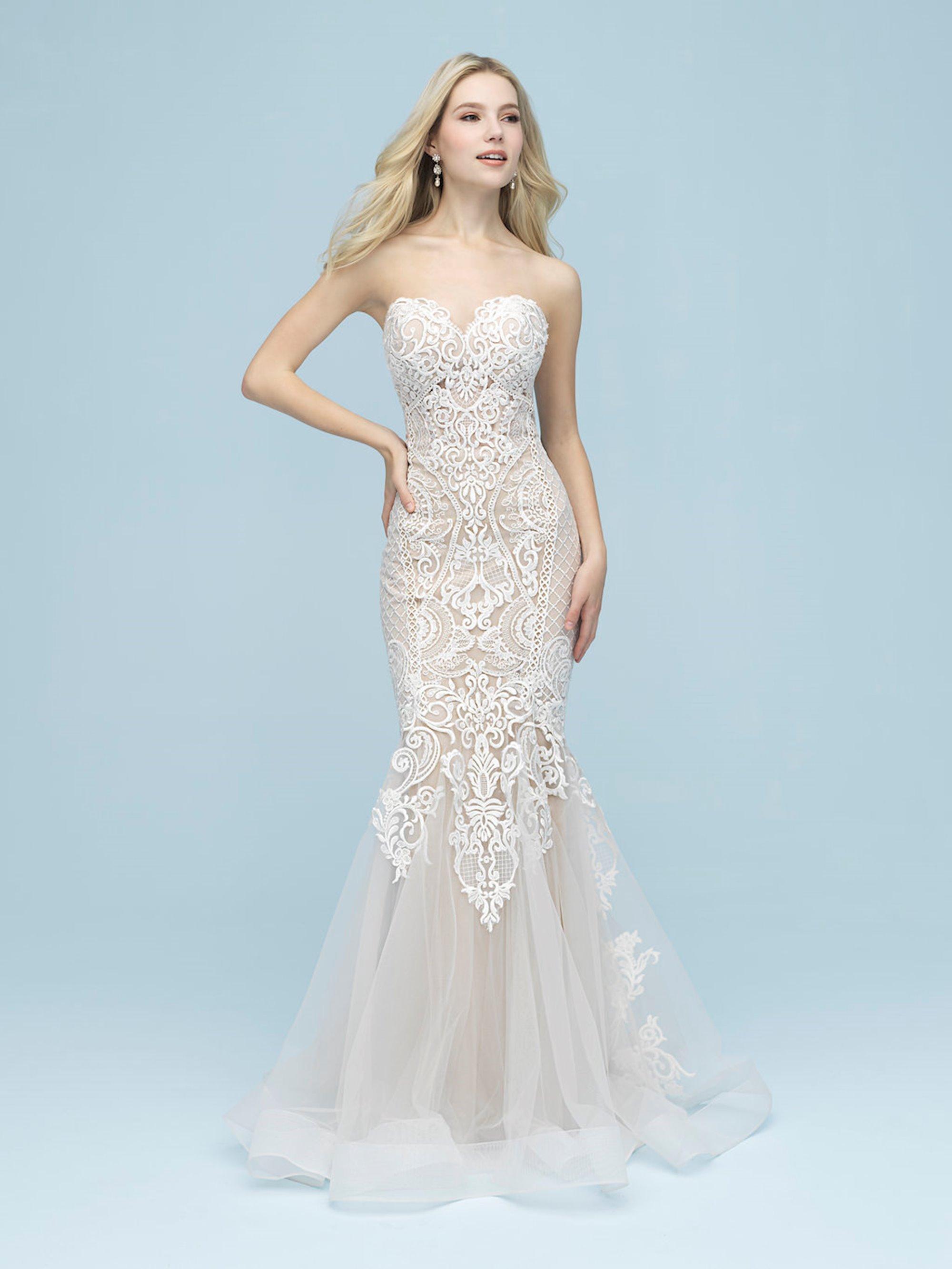 feaaf71f17b41 Allure Bridals - 9612 | Modern Brides