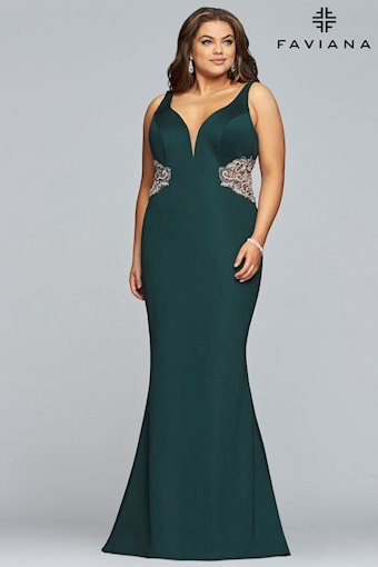 Faviana Plus Size Style #9448