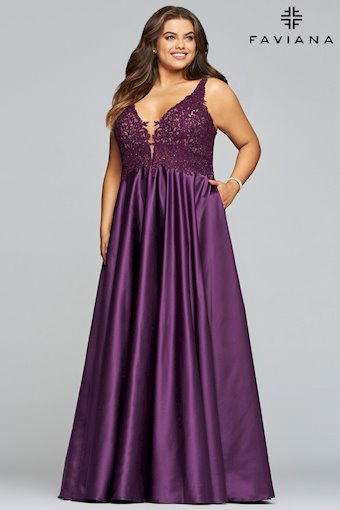 Faviana Plus Size Style #9462