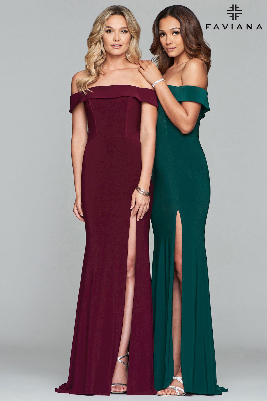 136dcfee6d Faviana Spring 2019 Prom Dresses