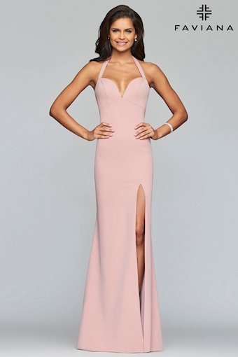 Pink Simple Formal Dress