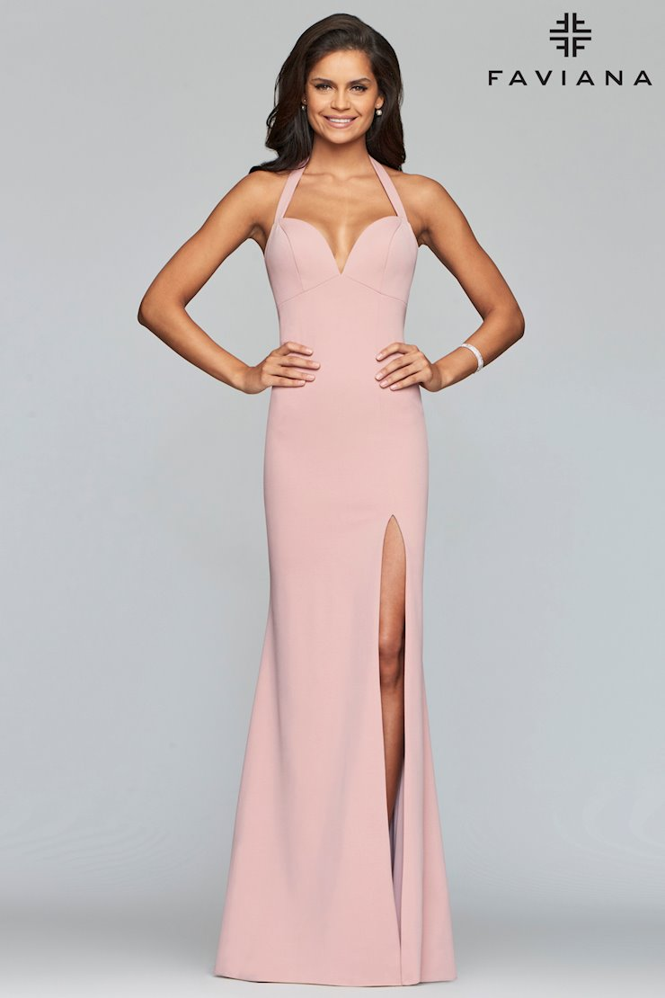 Faviana Prom Dresses Pink Simple Formal Dress