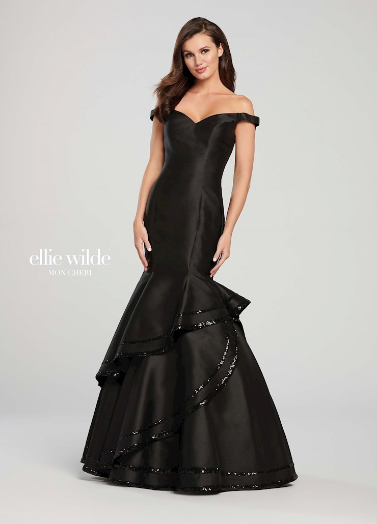 Ellie Wilde Prom Dresses Long Fitted Mermaid Gown