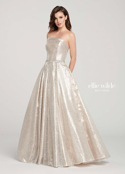 Sequined Prom Dresses And Gowns