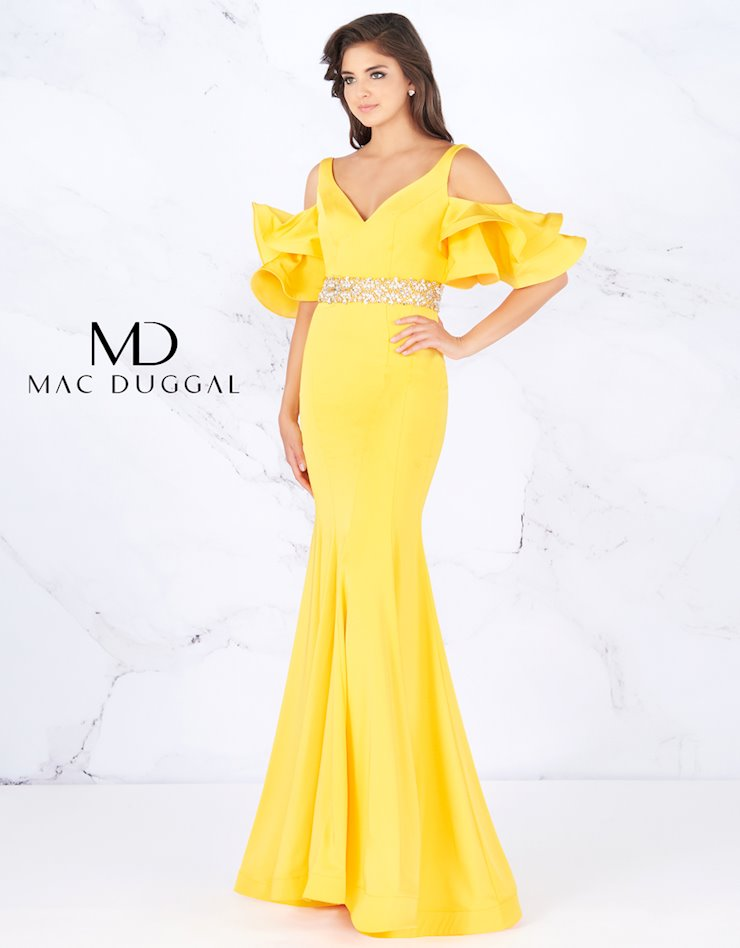 Cassandra Stone by Mac Duggal Style #66857A  Image
