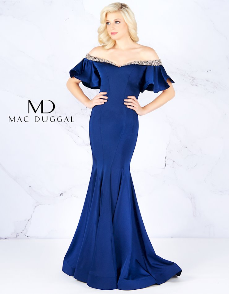 Cassandra Stone by Mac Duggal Style #66865A  Image
