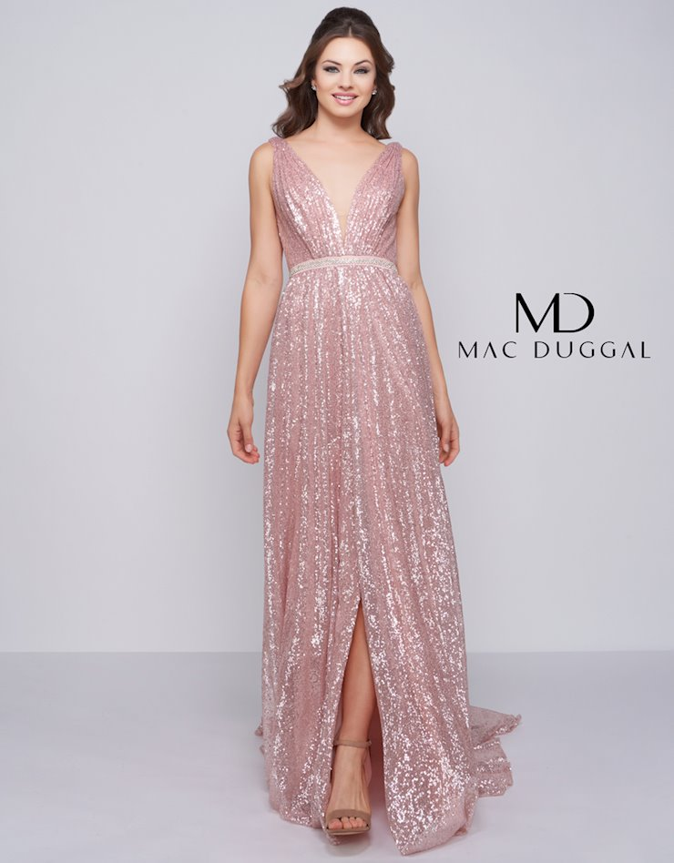 Cassandra Stone by Mac Duggal Style #77618A  Image