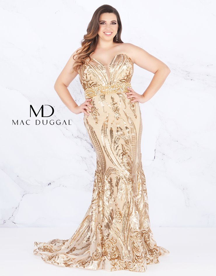 Fabulouss by Mac Duggal 66828F Image