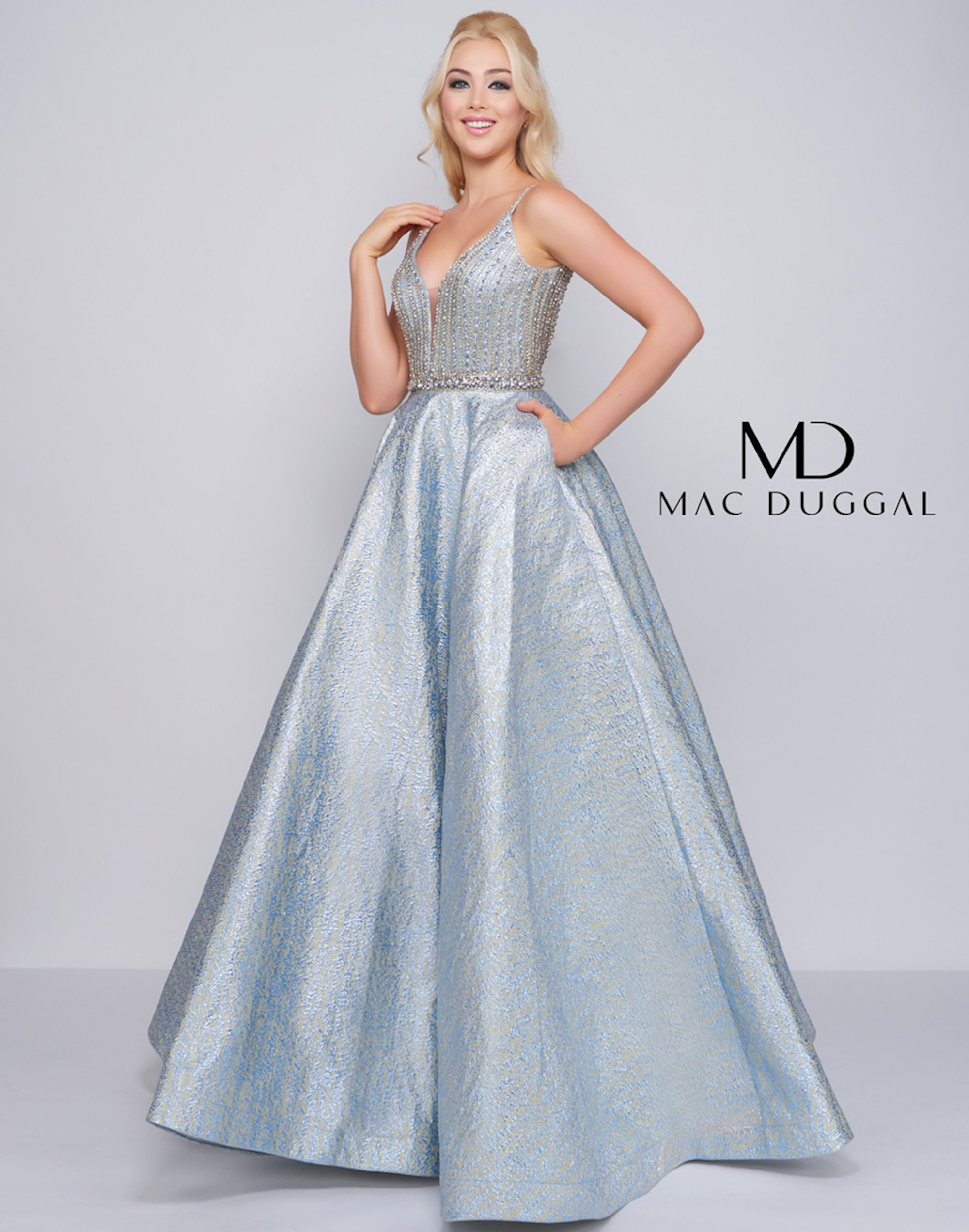 ff52d94679 Mac Duggal 66701M. Double tap to zoom