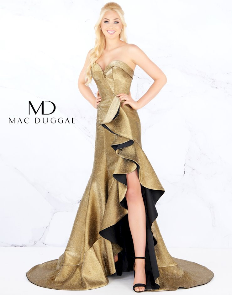Mac Duggal Style #67662M  Image