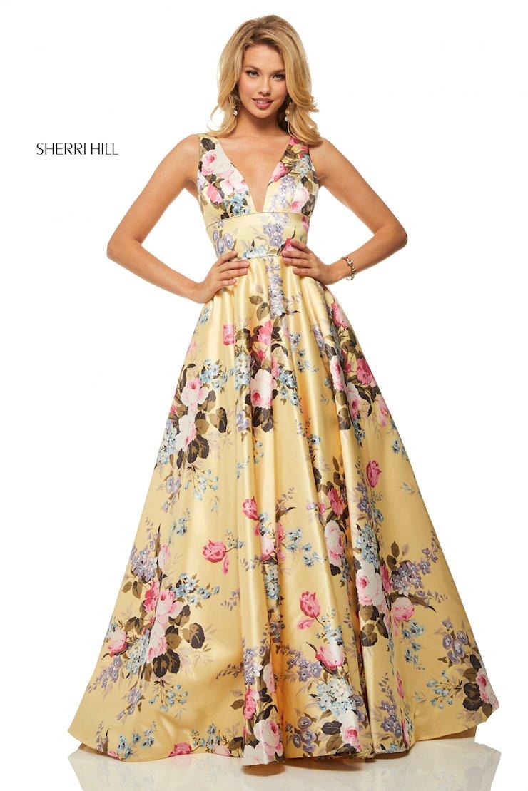 34981a77d8ed64 Sherri Hill Dress 52909 - Henri's
