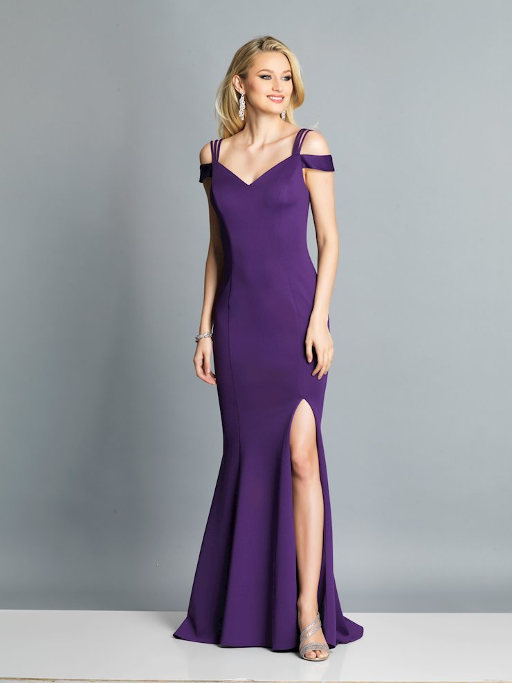 Dave & Johnny Prom Dresses Elegant Purple Prom Dress