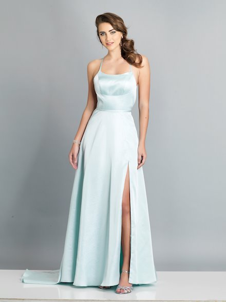 Simple A-Line Prom Dress