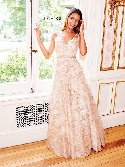 Long A-Line Prom Dress