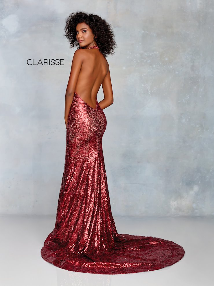 Clarisse Prom Dresses Sexy Open Back Embellished Prom Dress