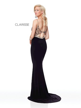 Clarisse Prom Dresses Beaded Black Prom Dress