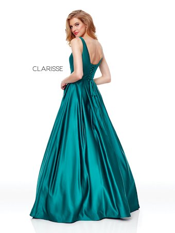 Clarisse Prom Dresses Satin A-Line Prom Dress