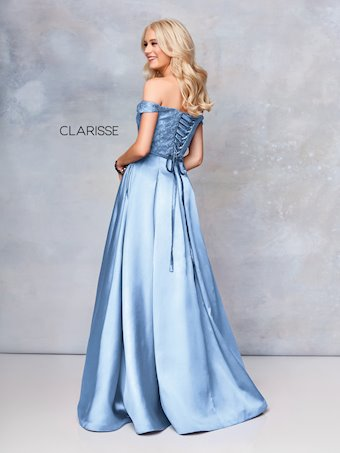 Clarisse Prom Dresses Elegant Off the Shoulder Ball Gown