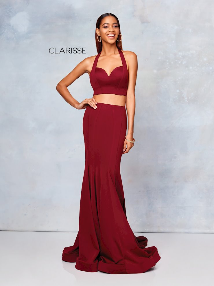 Clarisse Prom Dresses Simple Two Piece Fitted Prom Dress