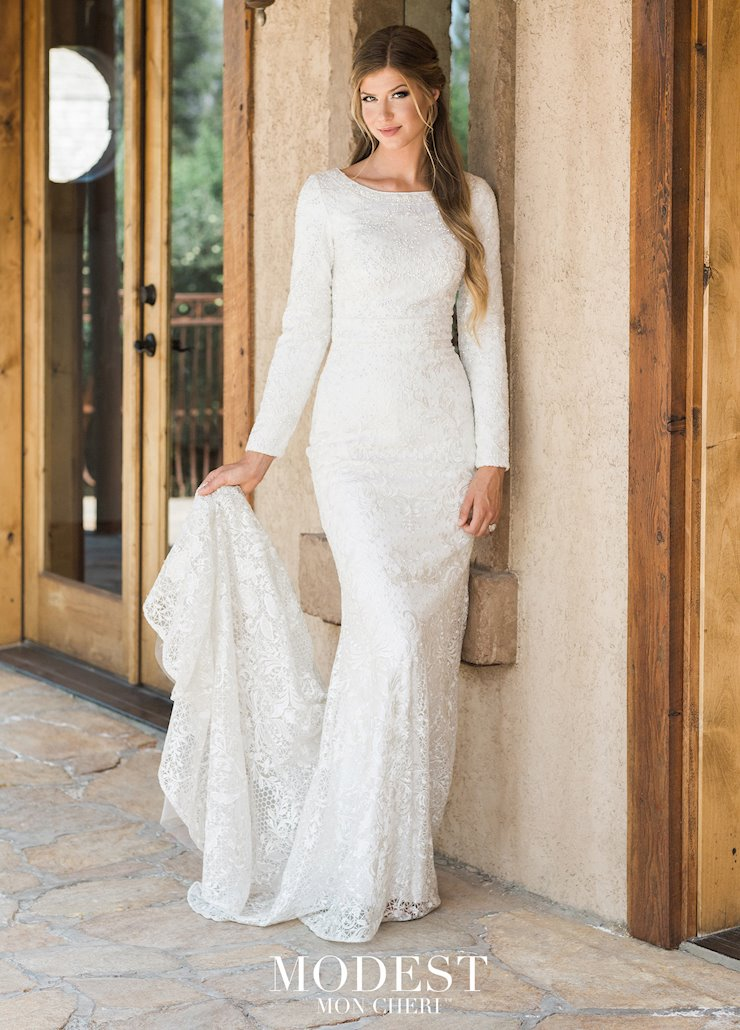 Modest by Mon Cheri Style #TR11987 Image