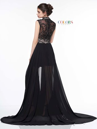 Colors Dress #2036