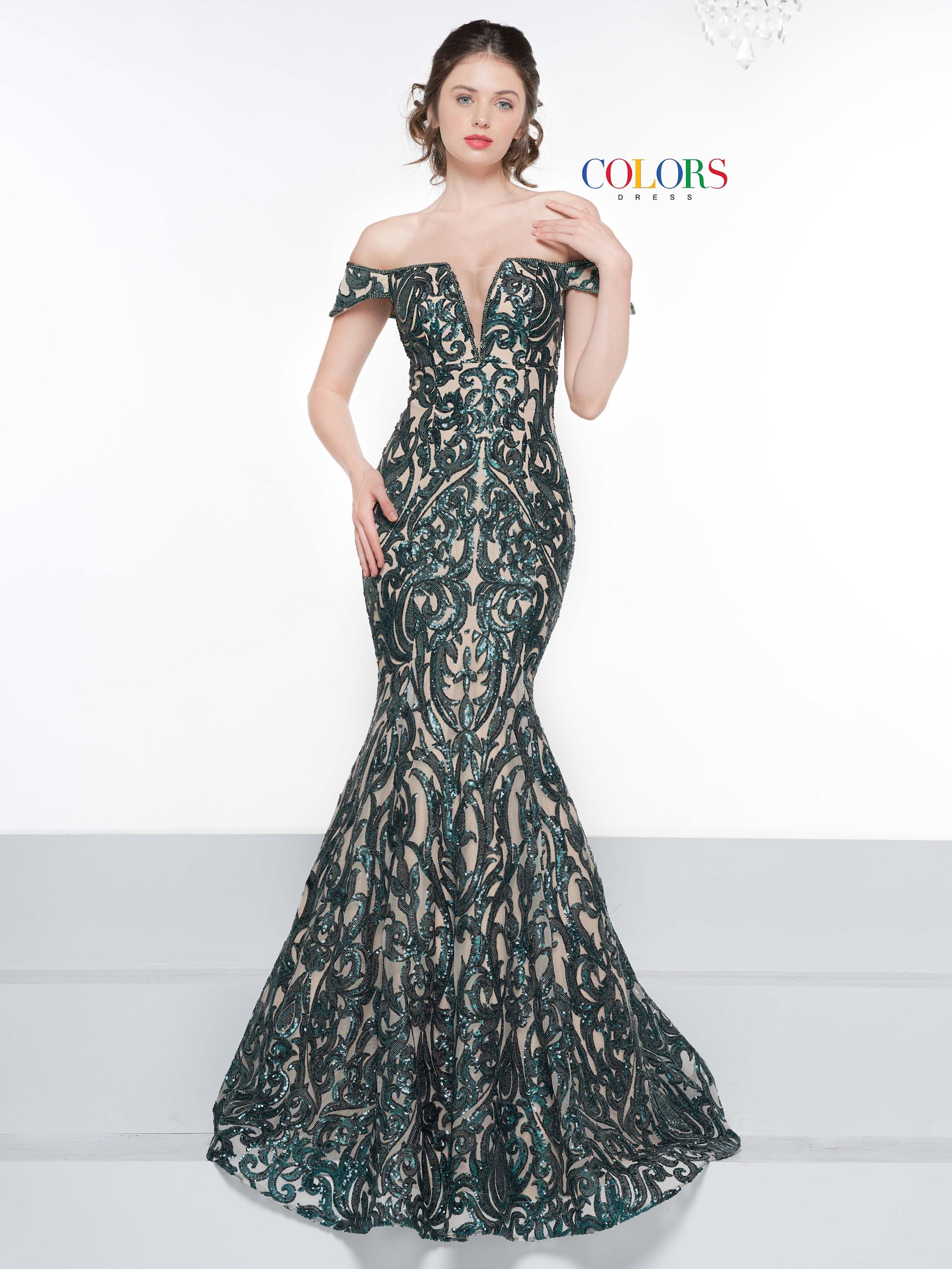 3a17f0b67ec02 Colors Dress - 2037 | After Five Fashion