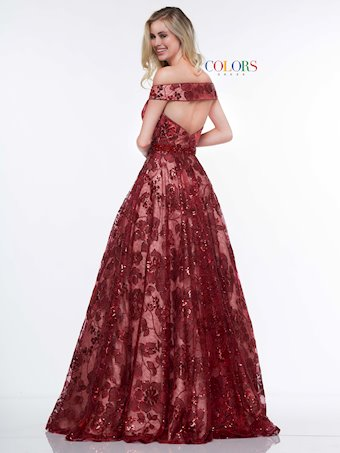 Colors Dress #2079