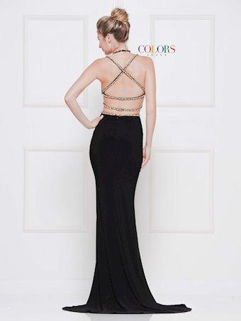 Colors Dress #2084