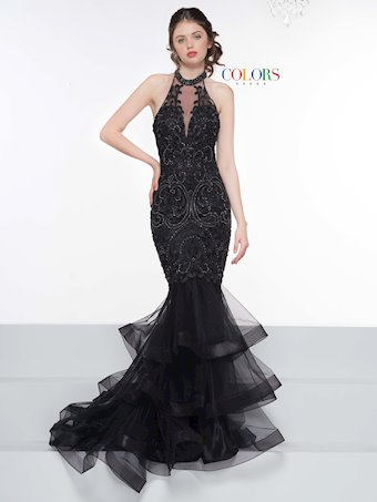 Colors Dress #2090