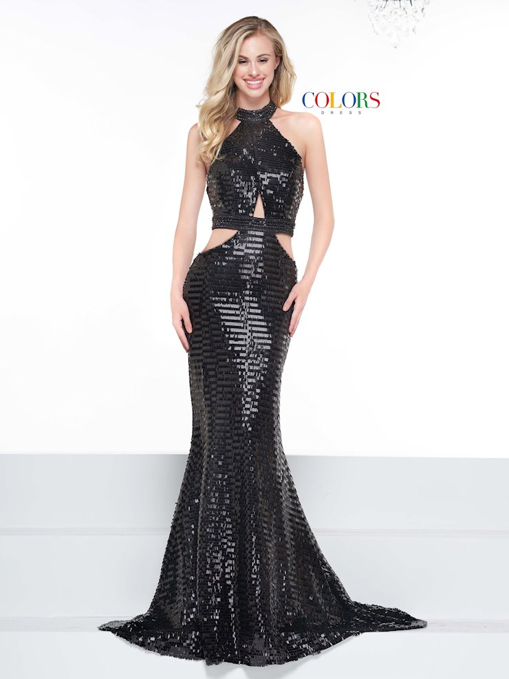 Colors Dress 2098
